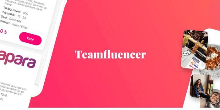 İnstagram ile Kazanç Sağlayabildiğiniz Teamfluancer Nedir?