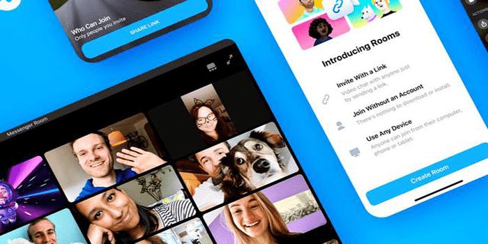 Facebook, Messenger Rooms Uygulamasını Yayınladı